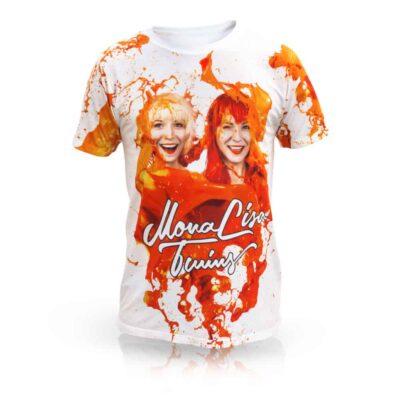 Unisex T-Shirt – ORANGE Front View