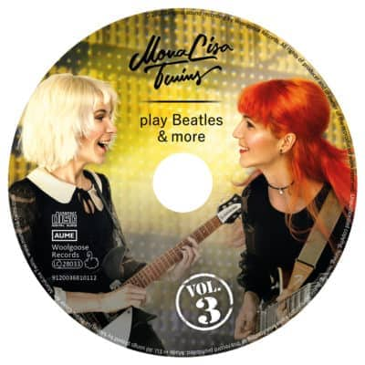 MLT play Beatles & more VOL3 CD Label